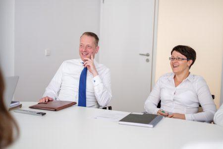 Beratung von Herrn Bernhard Behn und Frau Tatjana Kraft